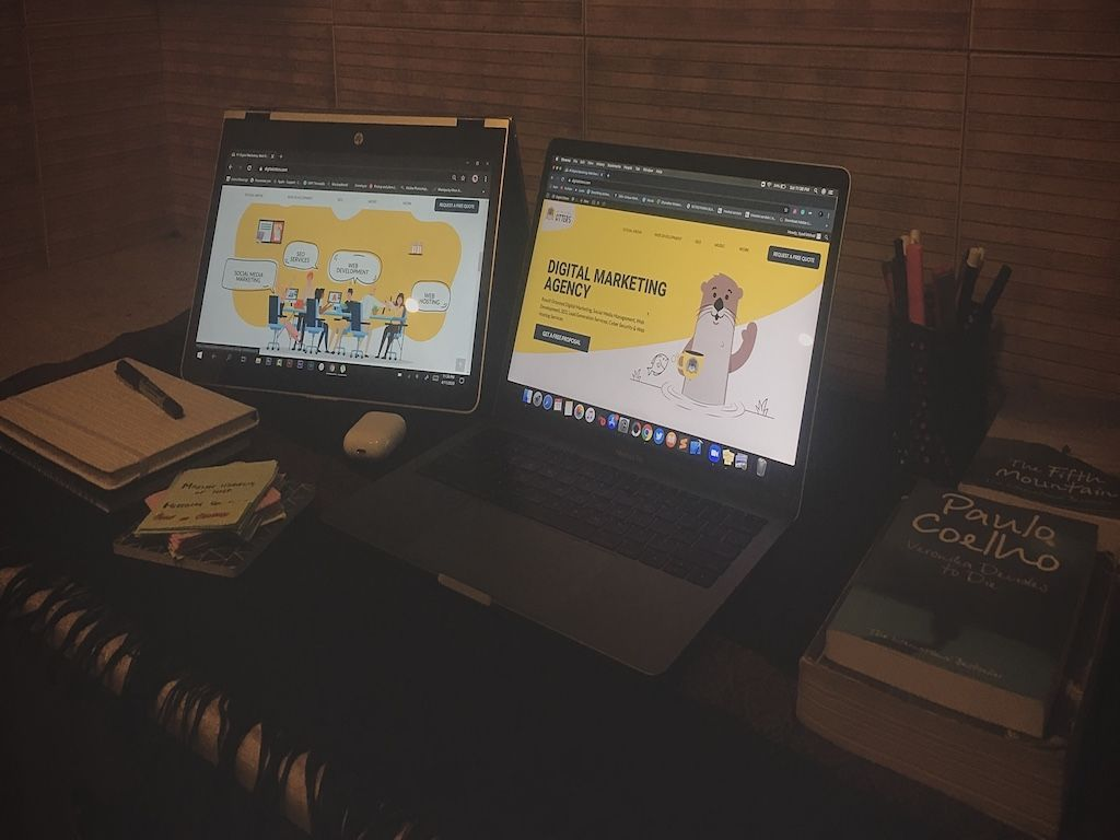 Workspace at Home during Quarantine