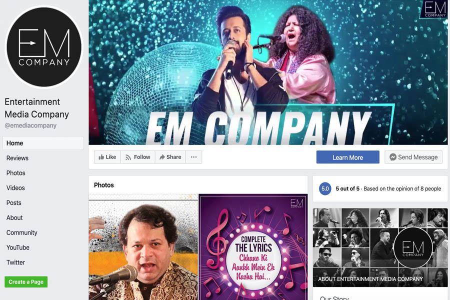 EM Company Facebook