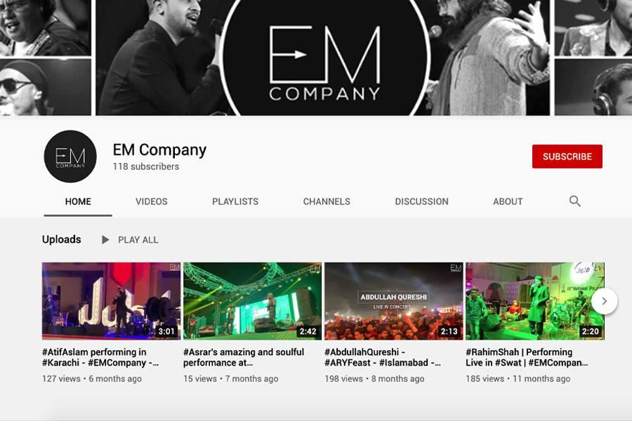 EM Company YouTube