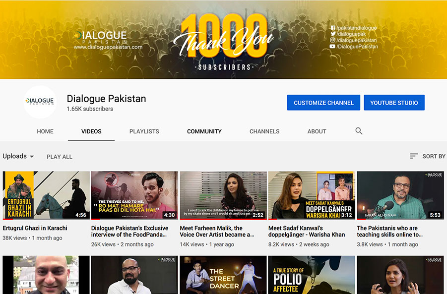 dialogue pakistan youtube