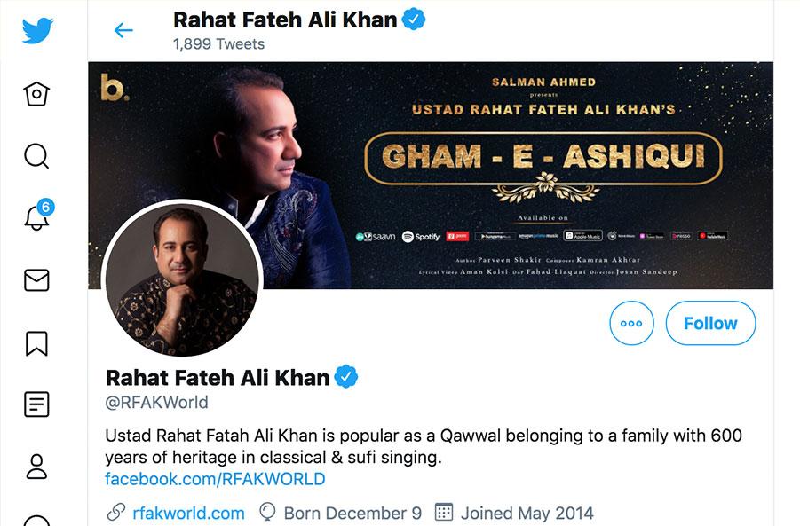 rahat fateh ali khan twitter