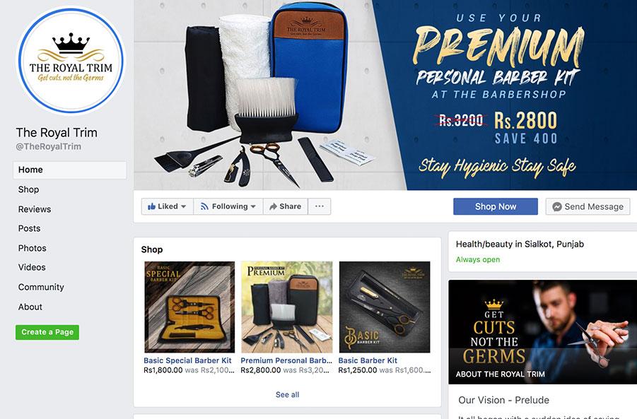 the royal trim facebook