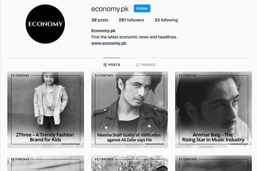 economy instagram