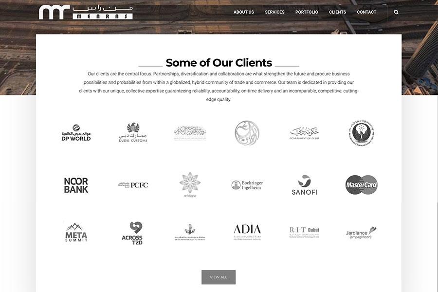 menras website